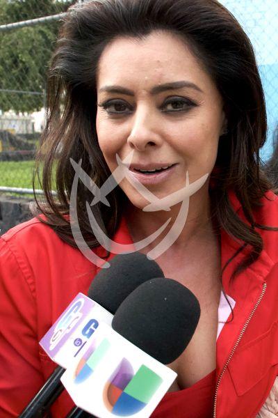 Yadhira Carrillo preocupada por su esposo
