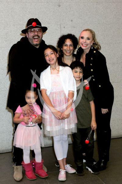 Rodrigo Abed y familia al circo