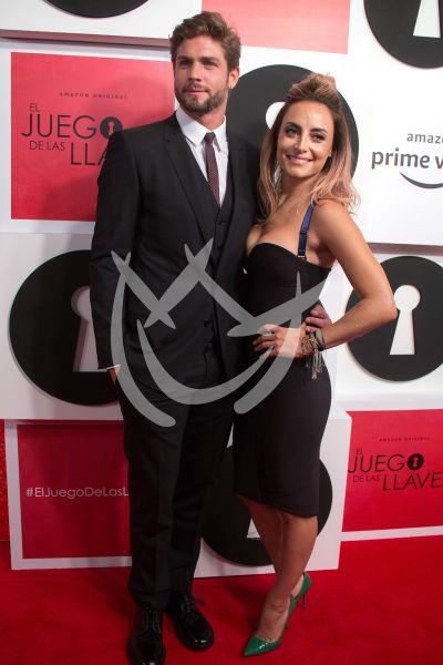 Horacio Pancheri con Marimar Vega y más con El Juego de las Llaves