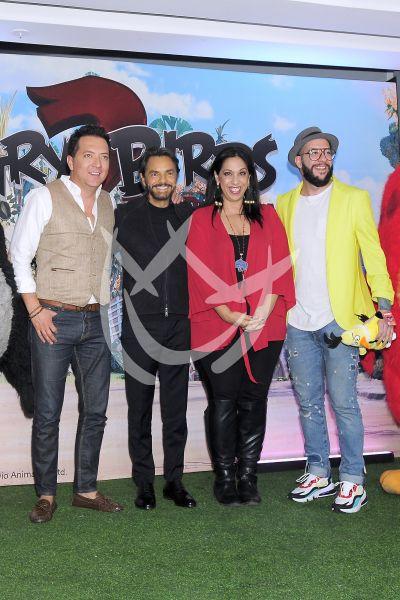 Eugenio Derbez y más son Angry Birds