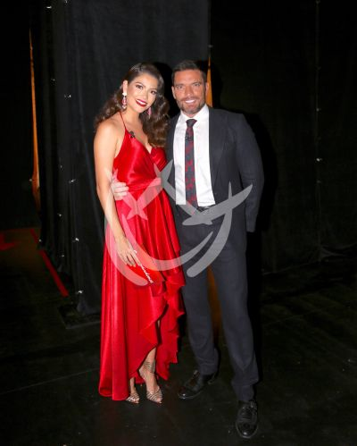 Ana Patricia y Julián Gil