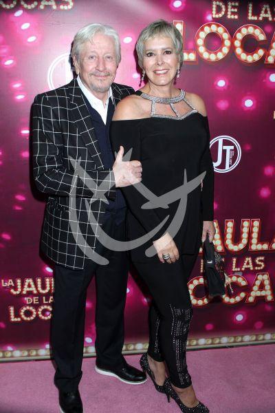 Margarita Gralia y esposo en La Jaula De Las Locas