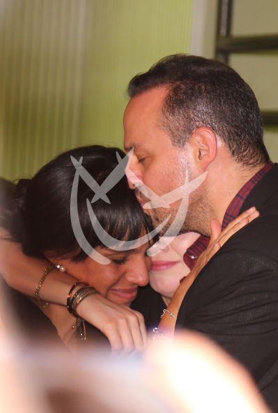José Joel y Marysol con Sarita: se reúnen los hijos de José José
