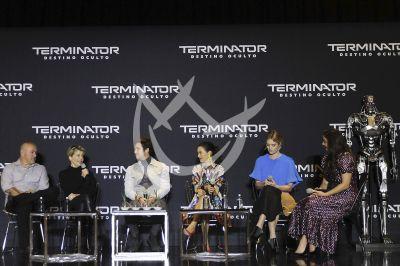 Terminator: Dark Fate, elenco