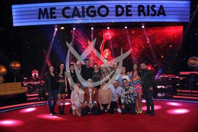 Me Caigo De Risa, elenco