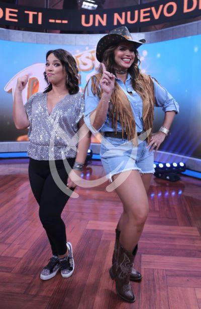 Adamari López y Rashel Díaz a la pista de baile