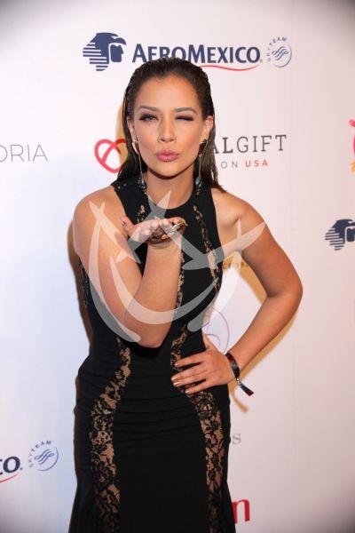 Carolina Miranda en Global Gift Gala