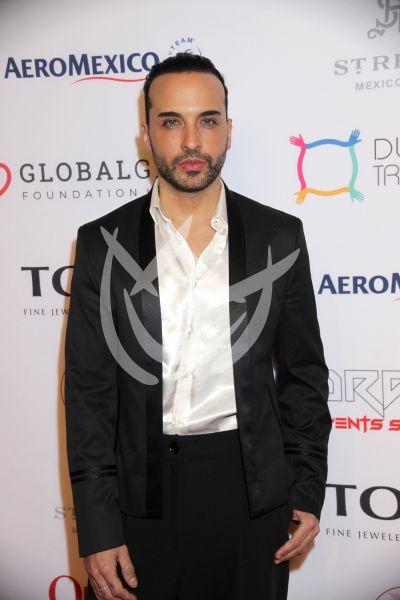 Apio Quijano en Global Gift Gala
