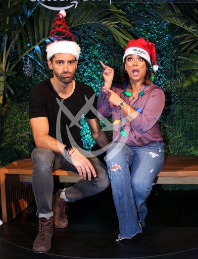 Adamari López y Toni Costa de Fiestas navideñas