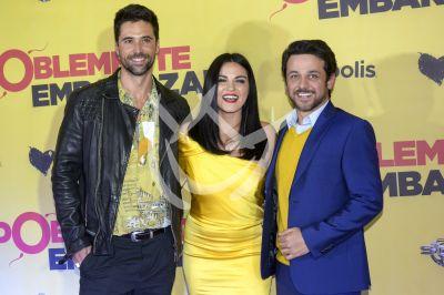 Maite Matías y Gustavo en Doblemente Embarazada
