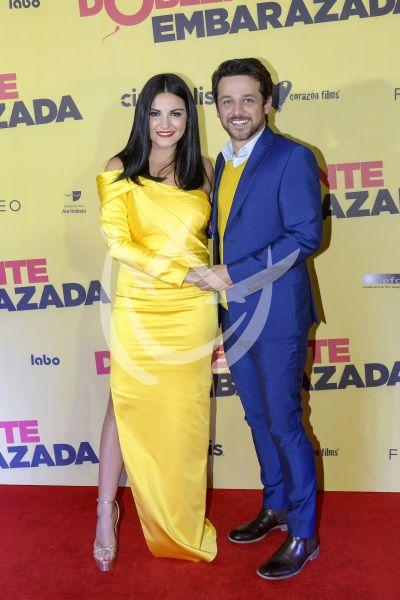Maite y Gustavo en Doblemente Embarazada