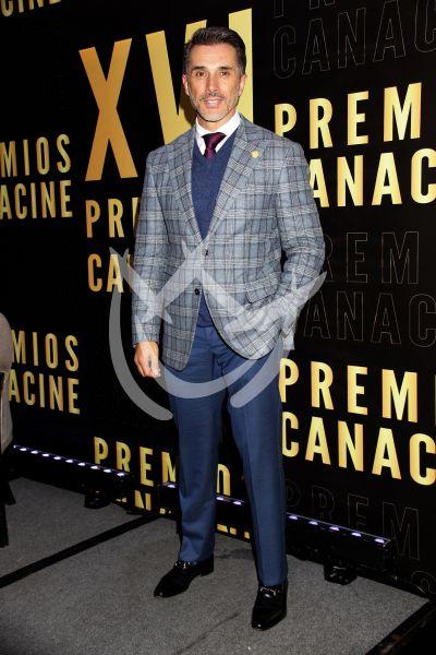 Sergio Mayer en los Premios Canacine