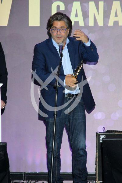 Martín Altomaro en los Premios Canacine