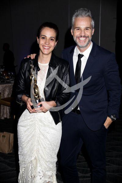 Cassandra Ciangherotti con Juan Pablo Medina y más en Premios Canacine