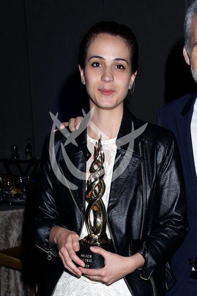 Cassandra Ciangherotti en los Premios Canacine