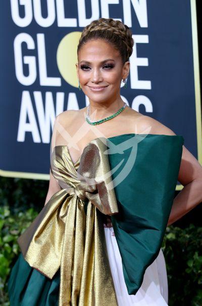 Jennifer Lopez en los Golden Globes