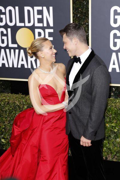 Scarlett Johansson y más en los Golden Globes