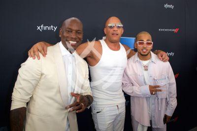 Ozuna, Vin Diesel y John Cena al concierto F9