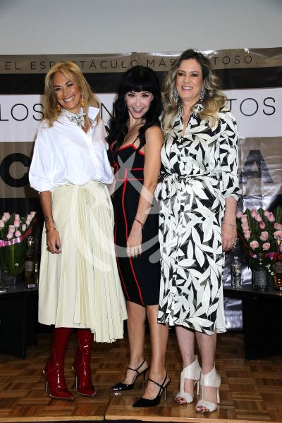 Susana Zabaleta, Rebecca de Alba y Adela Micha son Chingonas