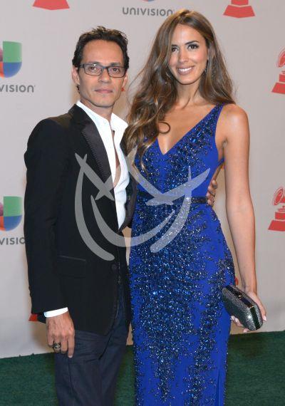 Marc Anthony y Shannon de Lima 2014