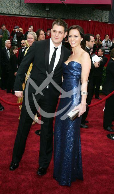 MIchael Buble y Katy Perry en Oscars 2007