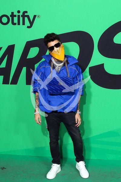 Mario Bautista en Premios Spotify