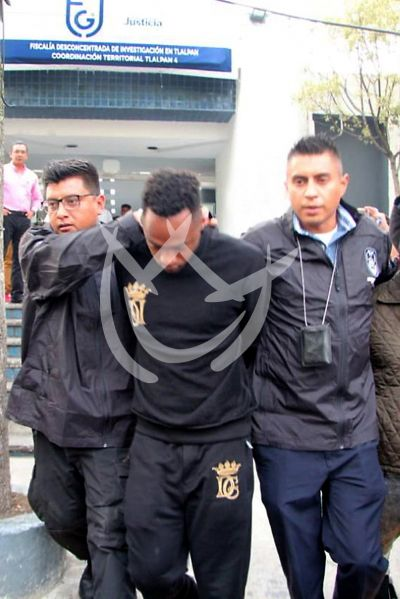 Renato Ibarra llega al Reclusorio Norte