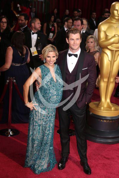 Chris Hemsworth y Elsa Pataki
