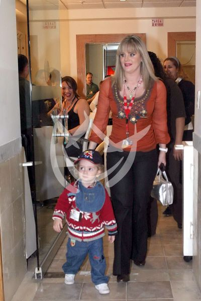 Erika Buenfil e hijo 2007