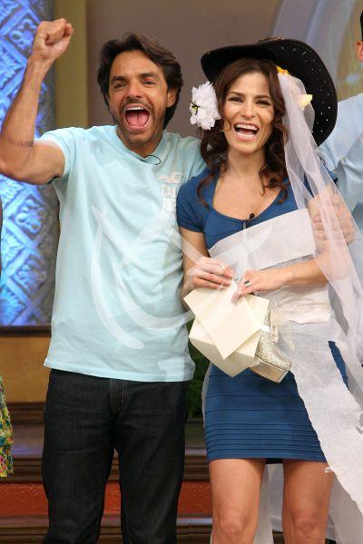 Eugenio Derbez y Alessandra Rosaldo boda TBT