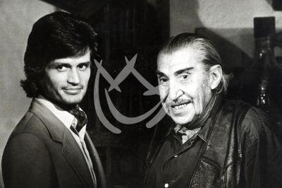 Alejandro Camacho y Emilio El Indio Fernández