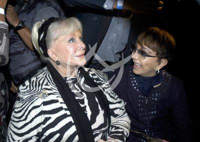 Verónica Castro pierde a su mamá Doña Socorro