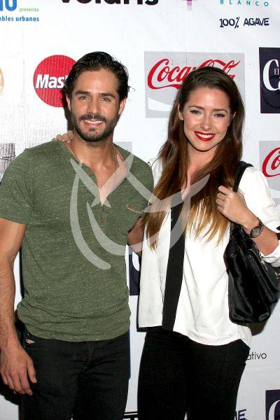 José Ron y Ariadne Díaz 2013