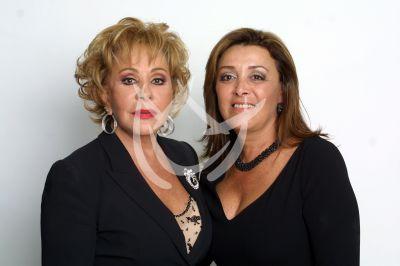 Silvia Pinal y Sylvia Pasquel