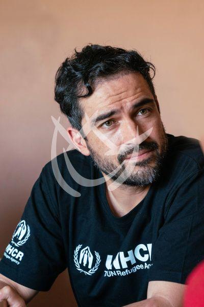 Alfonso Herrera por los refugiados de Latinoamérica