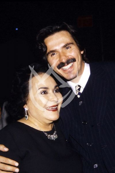 Carmen Salinas y Pedro Damián