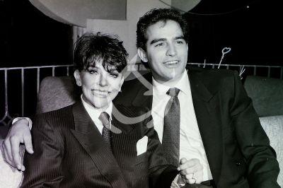 Verónica Castro y Omar Fierro 1989