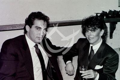 Verónica Castro con Omar Fierro y más Parejas del Ayer