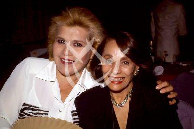 Mona Bell y Pilar Pellicer 1991
