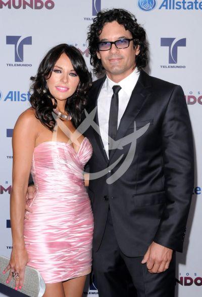 Vanessa Villela y Mario Cimarro 2012