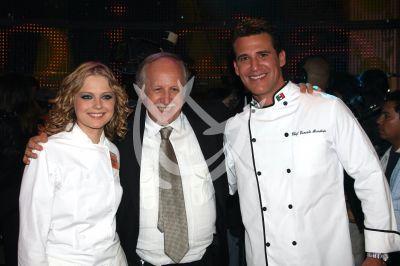 Héctor Ortega con Ana y Jorge