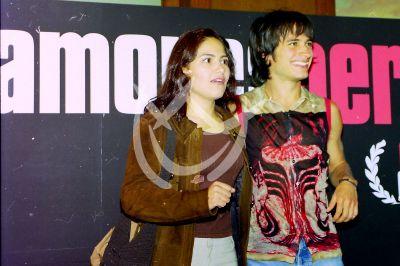 Vanessa Bauche y Gael García Bernal