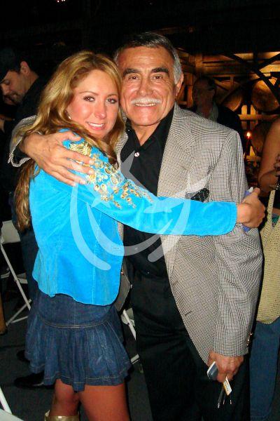 Geraldine Bazán y Héctor Suárez