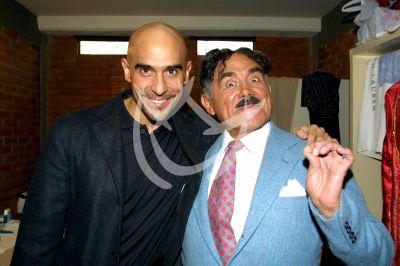 Héctor Suárez Gomís y papá Hector Suárez