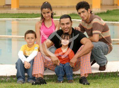 Latin Lover e hijos