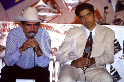 Vicente Fernández y Alejandro Fernández 1992