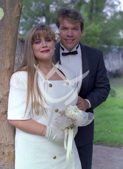 Angélica Ruvalcaba y Marcos Valdes