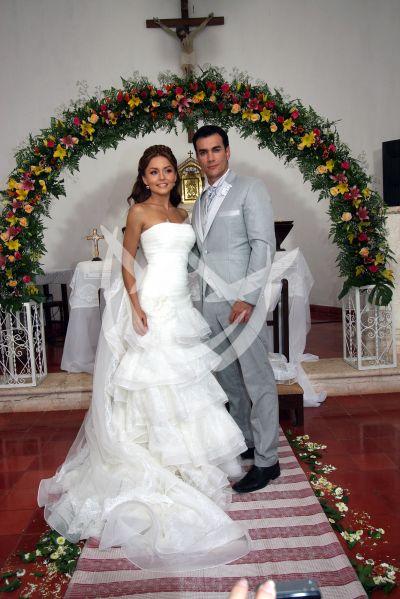Angelique Boyer y David Zepeda 2012