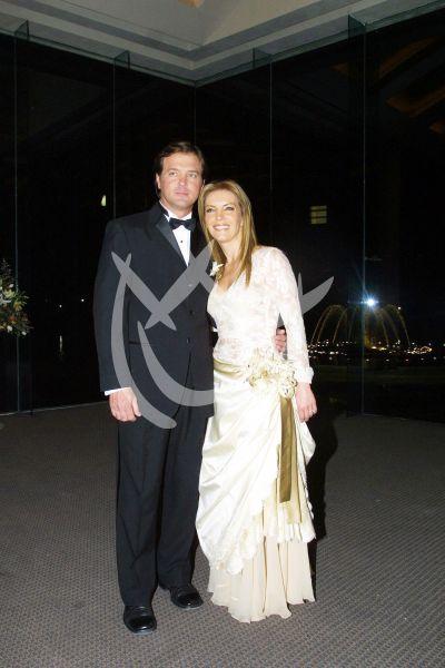 Laura Flores y René Strickler 2005