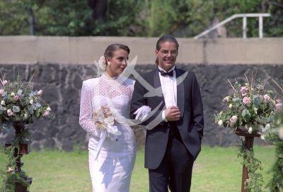 Sasha y Ricky Martin 1991